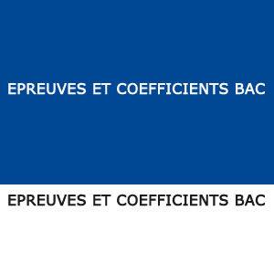 epreuves coefficients bac congo brazzaville